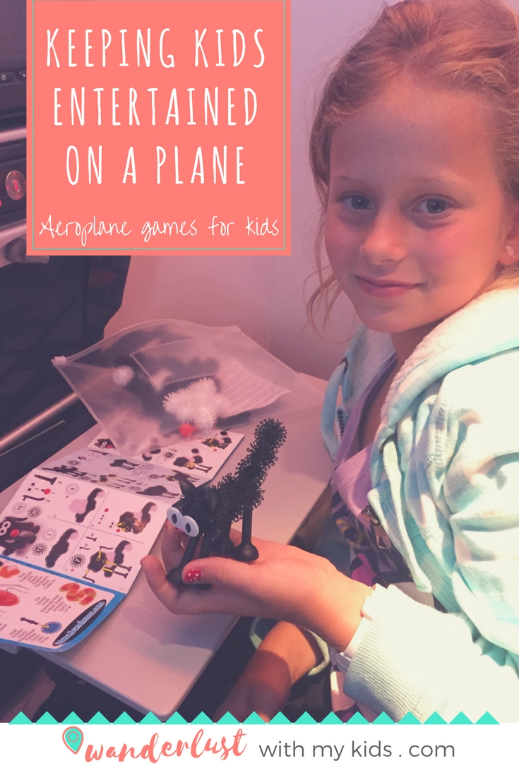 aeroplane games for kids, aircraft games, aeroplane activities, busy bags, tips, ideas for kids on long flights.
