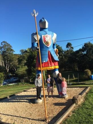 The Big Knight- Knockrow NSW