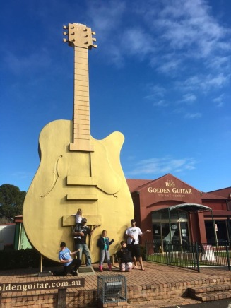 The Golden Guitar-Tamworth