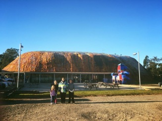 Big (little) Uluru- Karuah