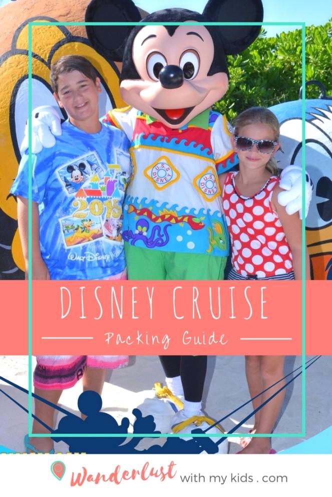 Disney Crise packing list