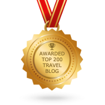 Wanderlust with my kids blog medal