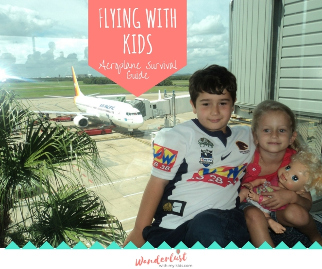 Flying with kids Facebook